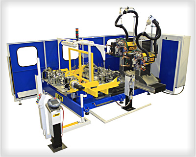 impianto di saldatura robotizzatoRobot di sald