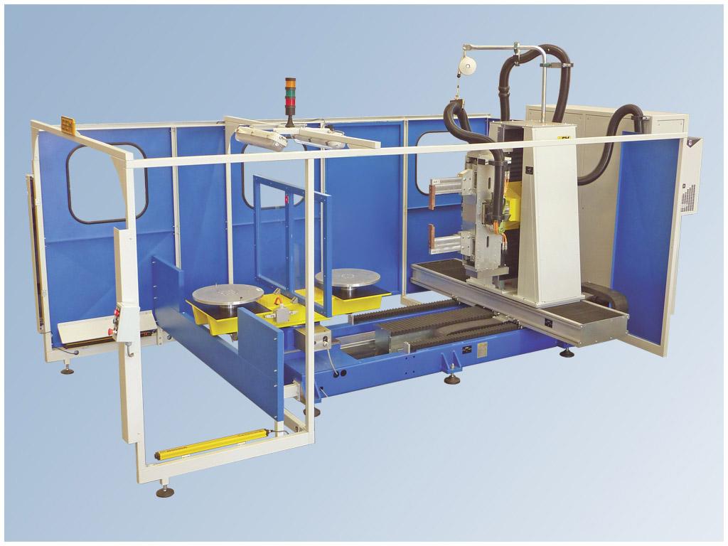 Impianto Robot per la saldatura a resistenza