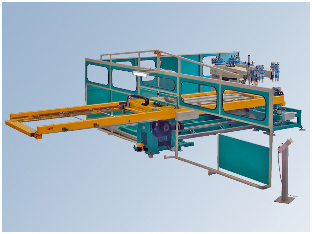 "Marta System 2-4-6 ax Bipinza workstation con pinza ""C elettrica o pneumatica"""