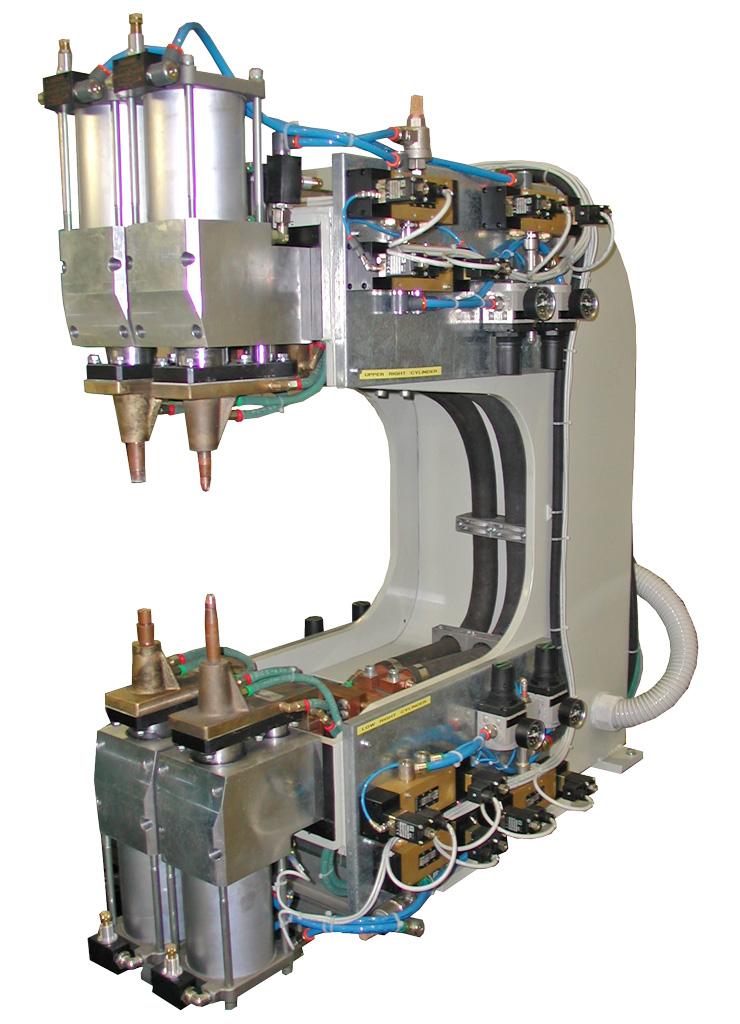 Modulo di saldatura a 4 cilindri contrapposti