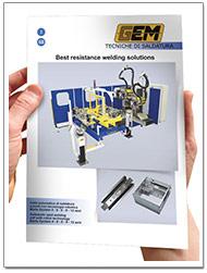 Catalogo saldatrici automatizzate Gem-Welding Marta-pinza