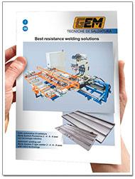 Catalogo saldatrici automatizzate Gem-Welding Marta-puntatrice