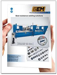 Catalogo saldatrici automatizzate Gem-Welding Modulo-proiezione