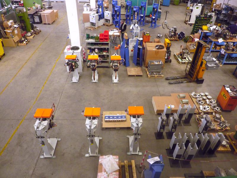 Stabilimento fabricazione robot di saldatura GEM-WELDING